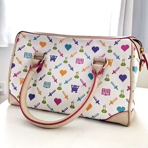 Think Geek x Pixelle Crossbody Bag w Strap